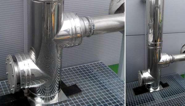 montáž pretlakových komínov a vložiek