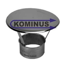 Nerezová strieška na komín v pr. 100 mm