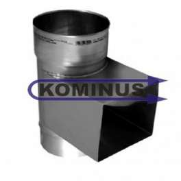 Dvierkový čistiace diel v pr. 130 mm v hr, 0,5 mm (rozmer pre dvierka 140x210) Kominus