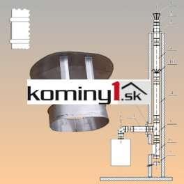 Diel k oválnym vložkám 110x215 mm - strieška